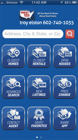 West USA Search App Page 01